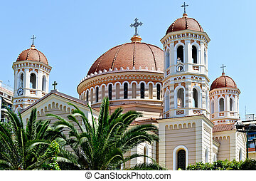 Thessaloniki. Cathedral - Center of Thessaloniki, Greece