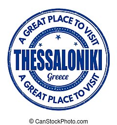 Thessaloniki sign or stamp