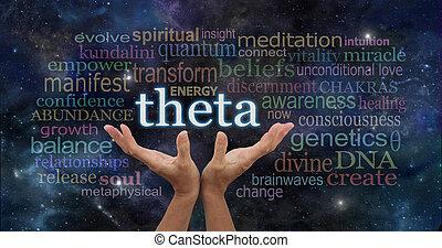 theta, 概念, 単語, 雲