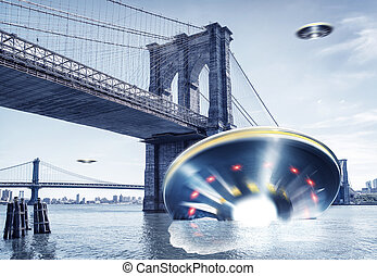 they come - ufos over new york