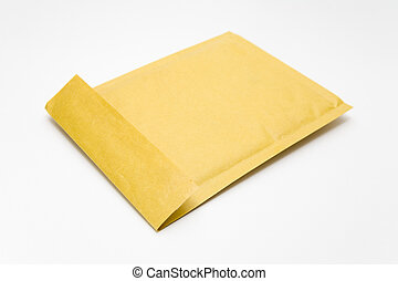 Thick Envelope - Thick envelope on a white background