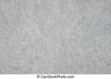 Thick Felt - Fragment of grey thick felt material