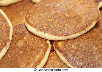 thick fluffy fresh pancakes - thick fluffy freshlu made ...