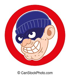 Thief bad face