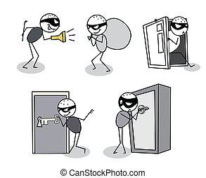 thief set vector
