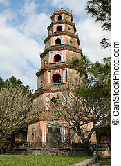 Pagoda - Thien Mu Pagoda, Hue, Viet Nam