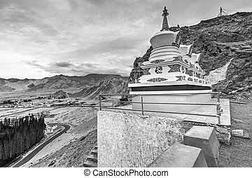 Thiksay monastery, Leh, Ladakh, Jammu and Kashmir, India
