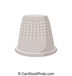 Thimble cartoon icon