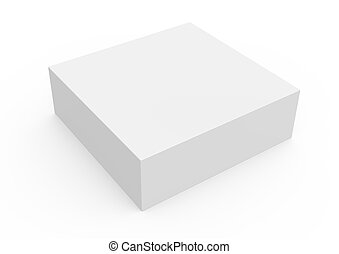 thin blank template box model