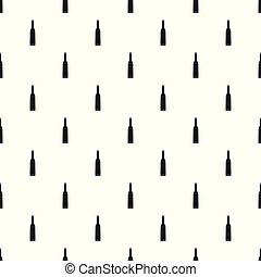 Thin cartridge pattern seamless vector
