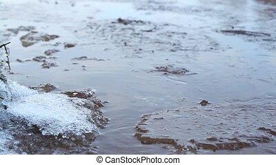 ice crystals frozen water