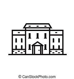 Thin Line House Emblem