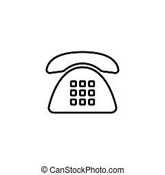 phone icon on white background