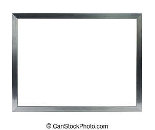 thin silver metal frame