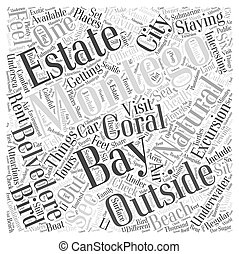 Things to do just outside Montego Bay Word Cloud Concept