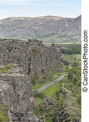 Thingvellir UNESCO world heritage site