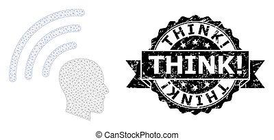 think!, 噛み合いなさい, テレパシー, 波, リボン, watermark, ゴム, 死体
