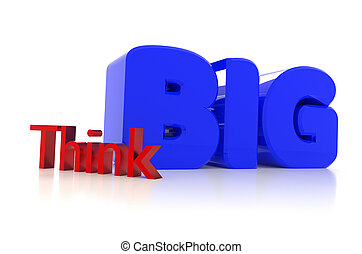 Think BIG, 3d rendering