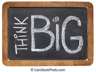 think big on blackboard