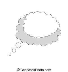 think cloud comic