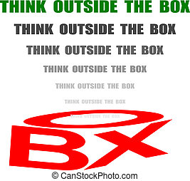 think out of the box to solve problems