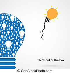 think out of the box concept