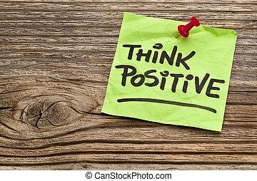 think positive reminder