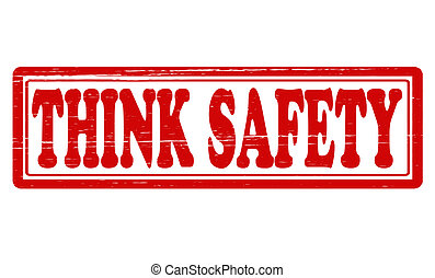 think safety clip art and stock illustrations 1 744 think safety rh canstockphoto com free safety clip art cartoons free safety clipart pictures