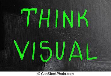 think visual concept
