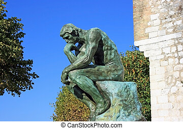"""Thinker original - A copy of \\\""""Thinker\\\"""" by Auguste..."""