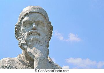 Thinker - Ancient Philosopher Thinker Omar Khayyam