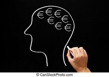 Thinking About Money Concept