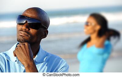 Thinking African Man