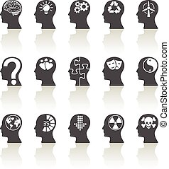 Thinking Heads Icons