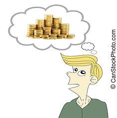 Thinking of money