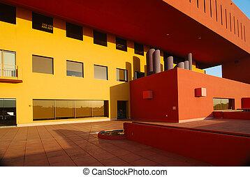 Third Floor Terrace - Library terrace on the third floor is ...