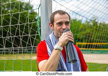 Thirsty Sportsman