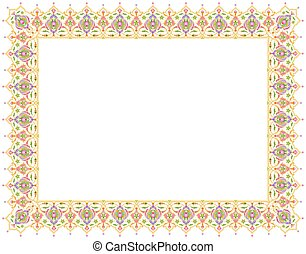 colorful page border. Floral Ornament Blank Template for Certificate or Book Page Border Colorful page border ornament design template brochure vectors