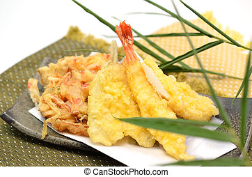 Tempura - This ia a picture of Tempura. That is traditional ...