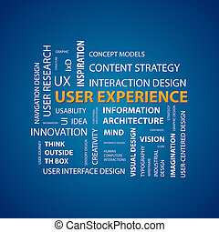 UX Design - This image represents a user experience map./UX...
