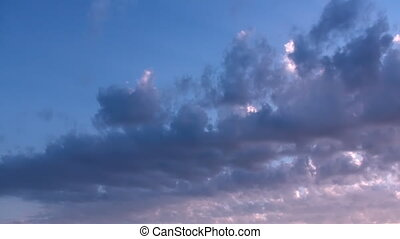 Evening Clouds Timelapse
