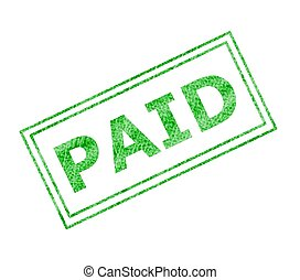 paid - this is a image of paid stamp.