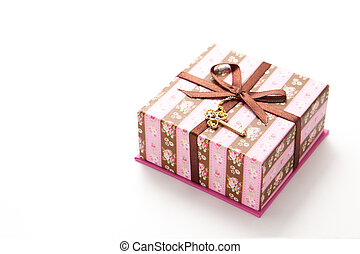 gift box striped