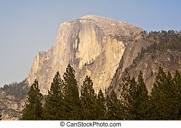 Half Dome - This is a picture of Half Dome at Yosemite...