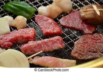Korean barbecue Yakiniku
