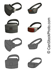 set of Virtual reality devices - This is a set of Virtual...