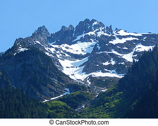 North Cascade Mountains - This is a stunning picture of the ...