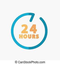 24 hours customer service.