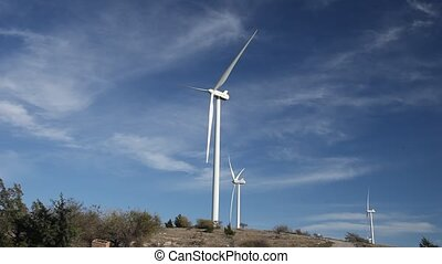 This is a video of a Wind Turbine.