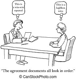 "This is a win win squared agreement - ""The agreement ..."